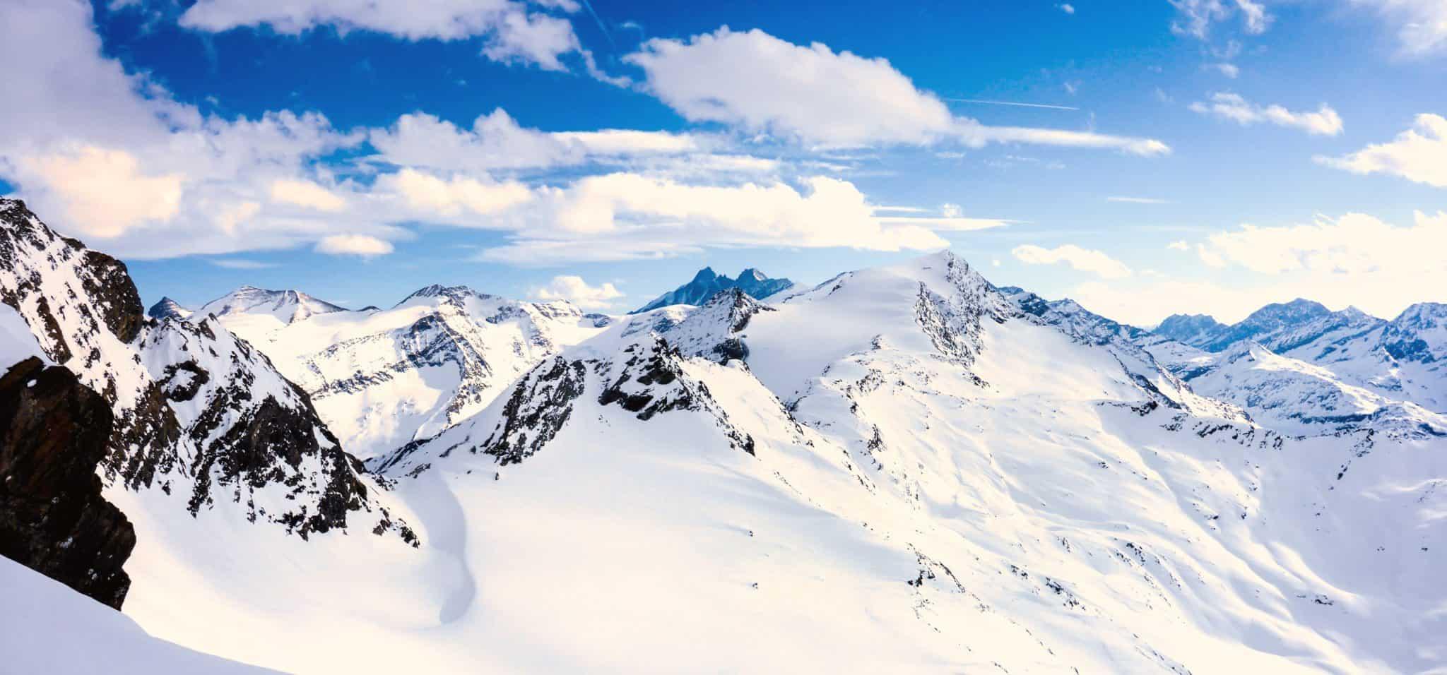 Alpine Schweiz im Winter
