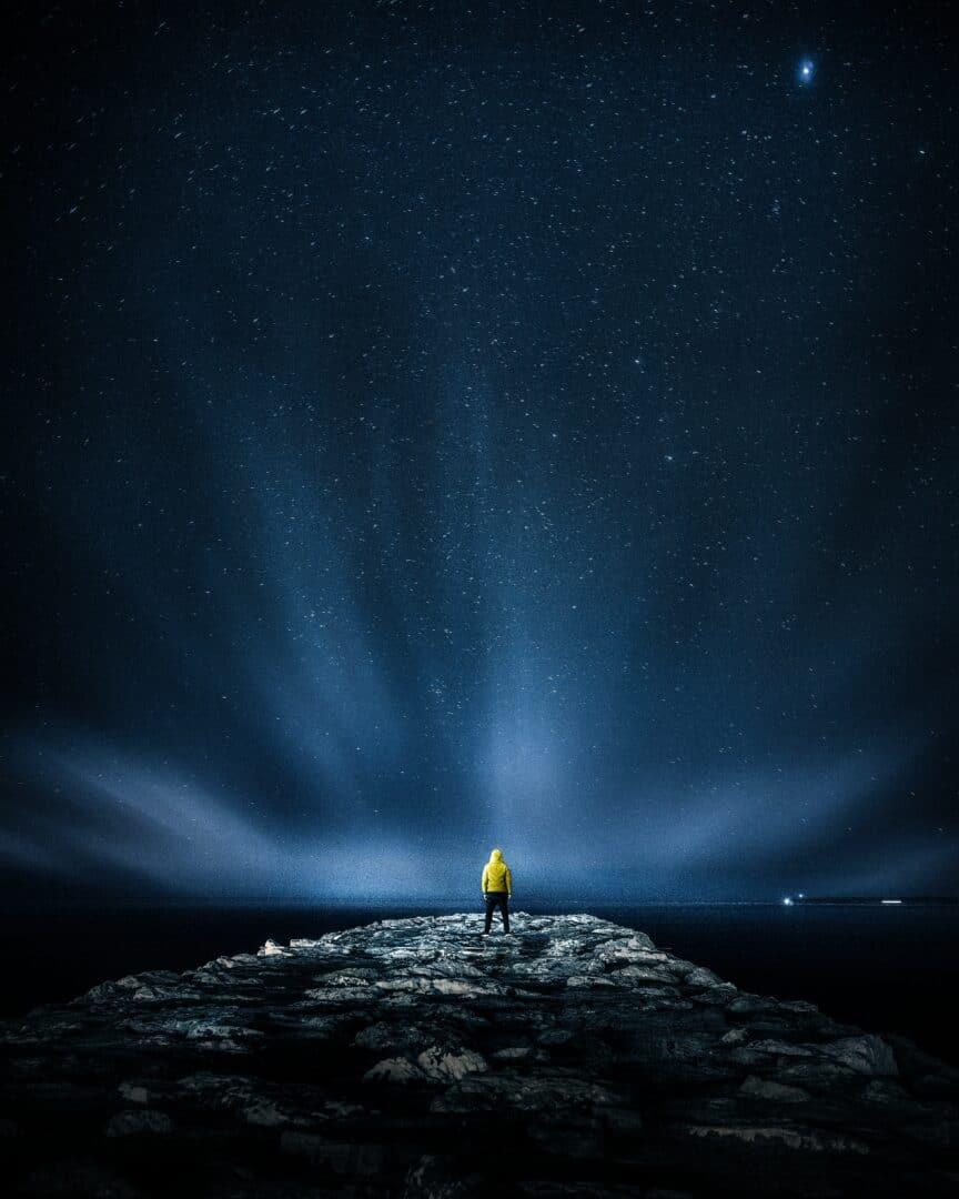 Die Suche nach dem Sinn des Lebens beginnt!