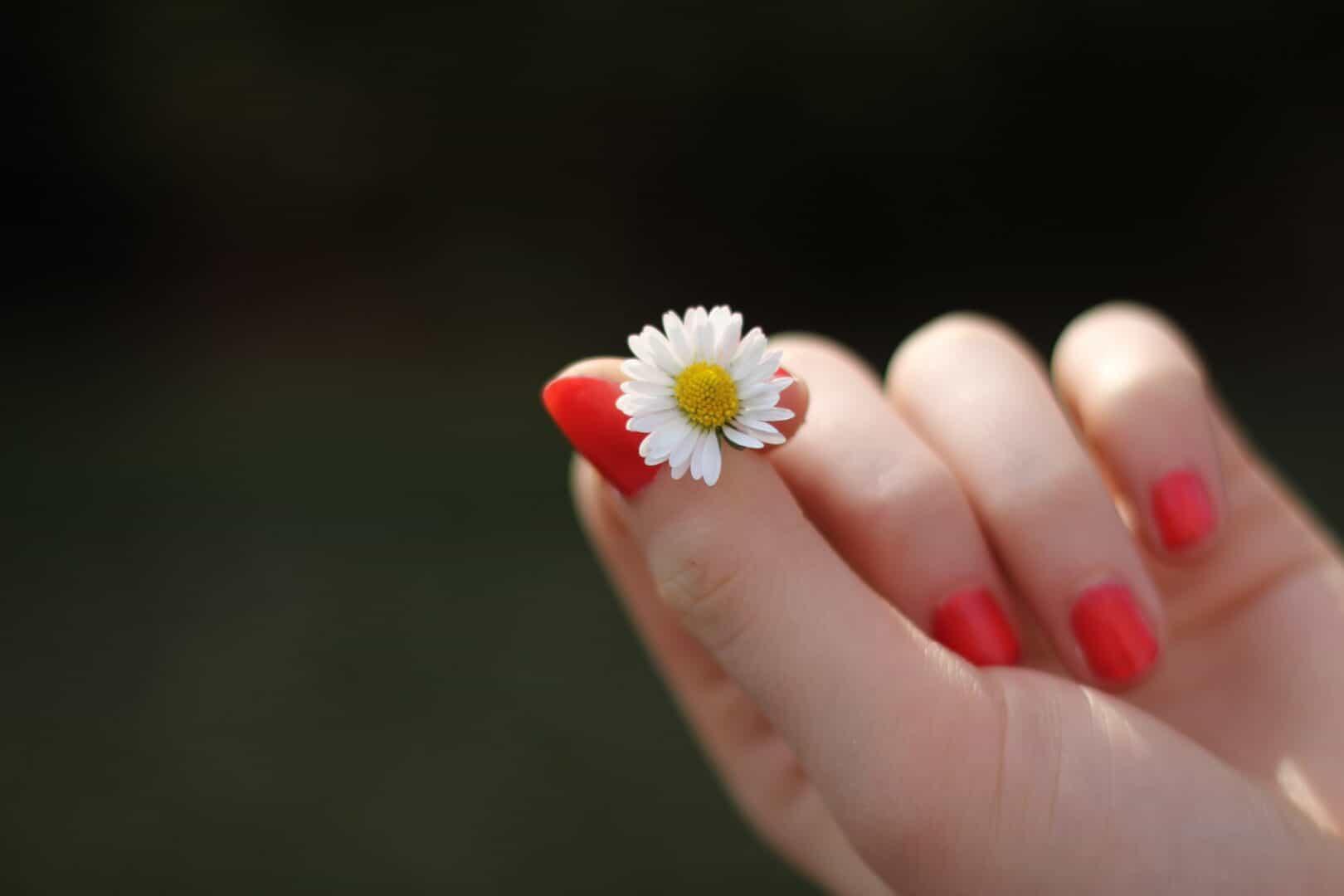 Haarausfall und brüchige Fingernägel