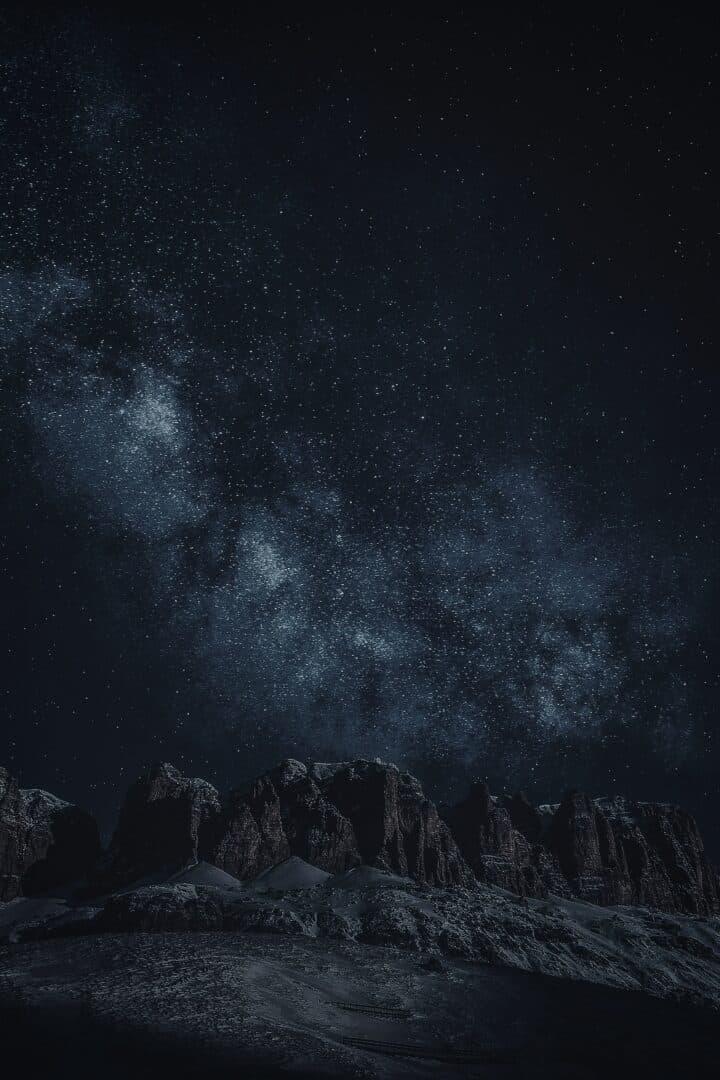 Sterne auf dem Eisfeld