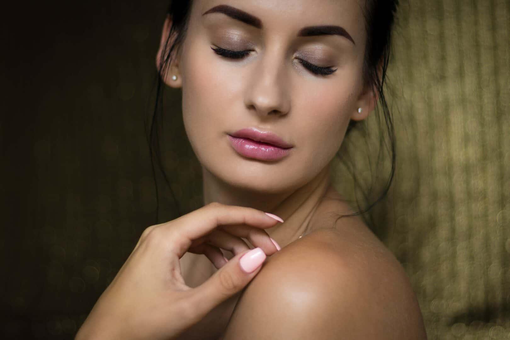 Sinnhaftigkeit einer unreinen Haut mit Hautirritationen
