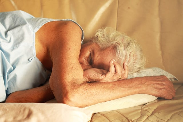 Altersdemenz durch Schlafapnoe