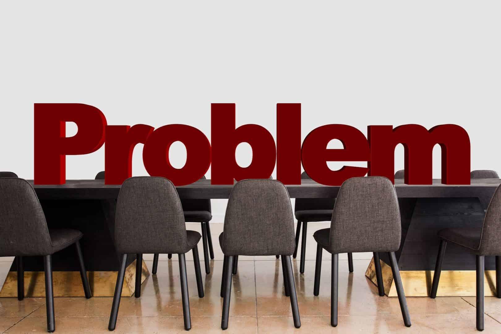 Wie löse ich «keine» Probleme